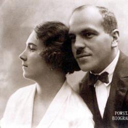 Stanisław Martyński z żoną. Fot. ze zbiorów Zbigniewa Martyńskiego.