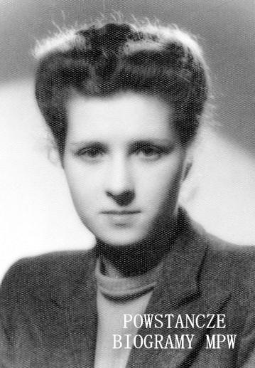 "Aldona Ewa Popławska ""Bronisława"" (1925-2012). Fot. AR MPW"