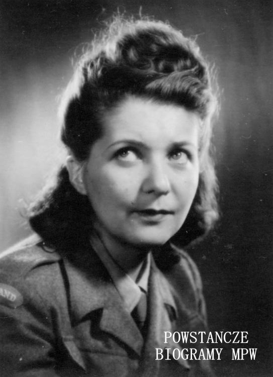 """Elżbieta Zofia Zboińska """"Stacha"""" (1915-2004) Fot. archiwum rodzinne"""