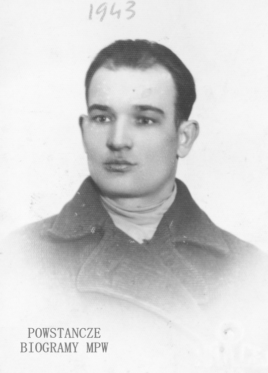 """Jan Witkowski """"Jaś"""" (1911-1944). Fot. z archiwum rodzinnego Władysława Witkowskiego"""