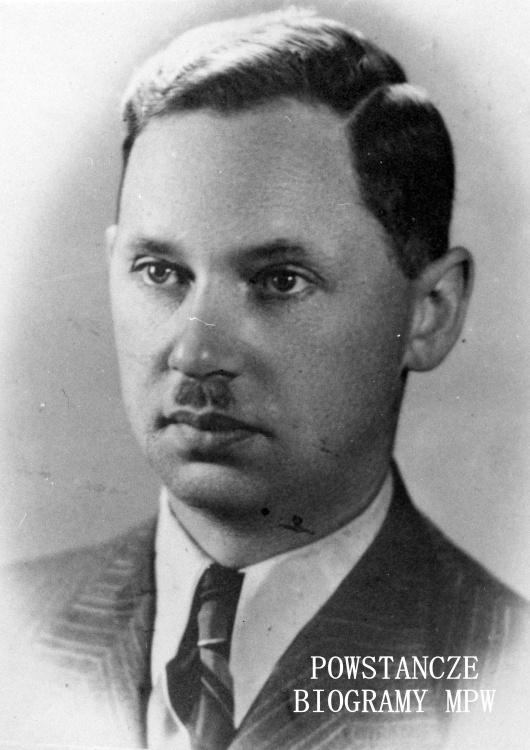 """Czesław Melchior Szczubełek ps. """"Jaszczur"""" (1905-1944) Fot. AR MPW"""
