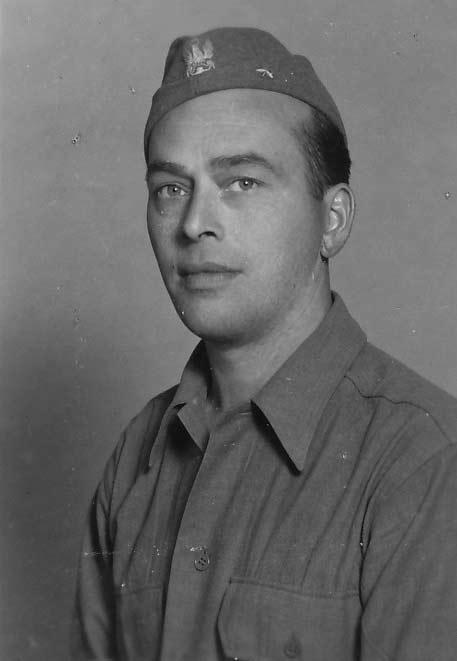Zygmunt Poncyljusz - zdjęcie z lipca 1945 r. wykonane po wyzwoleniu obozu Murnau
