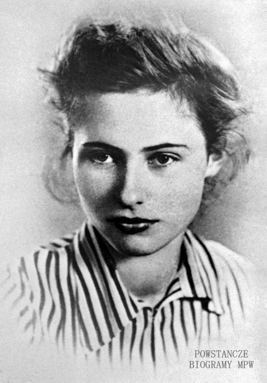 """Anna Wajcowicz """"Hanka Kołczanka""""  (1924-1944) Fot. AR MPW"""