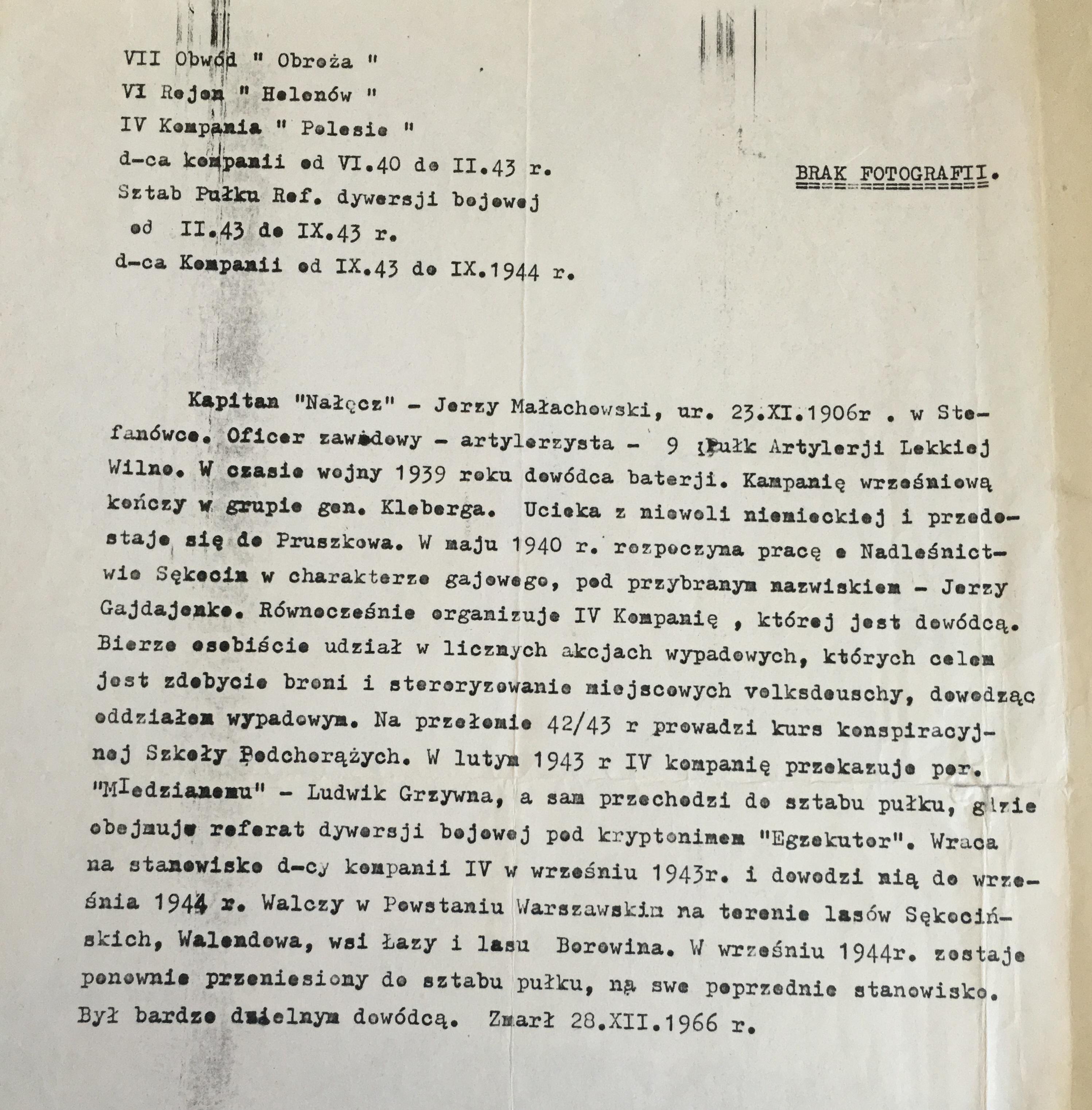 Dokument udostępniła p. Sylwia Małachowska