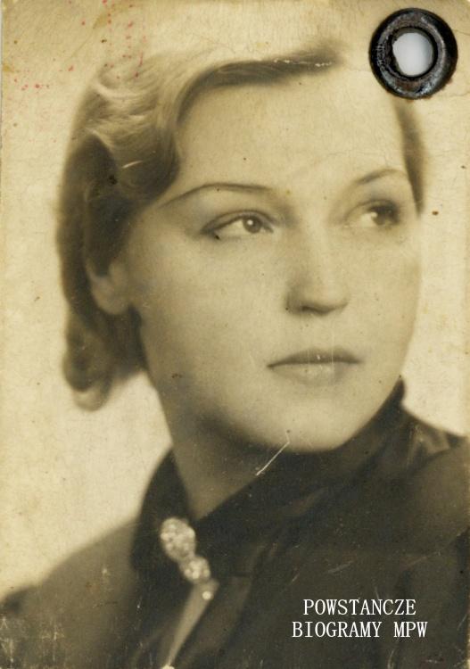 """Joanna Fabiszewska """"Jana"""" Na zdjęciu w latach 30-tych XX w. Fot. z archiwum rodzinnego Andrzeja Składanka."""