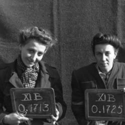 Fotografia z obozu jenieckiego XI B. Fallingbostel: ppor. Zofia Berezowska