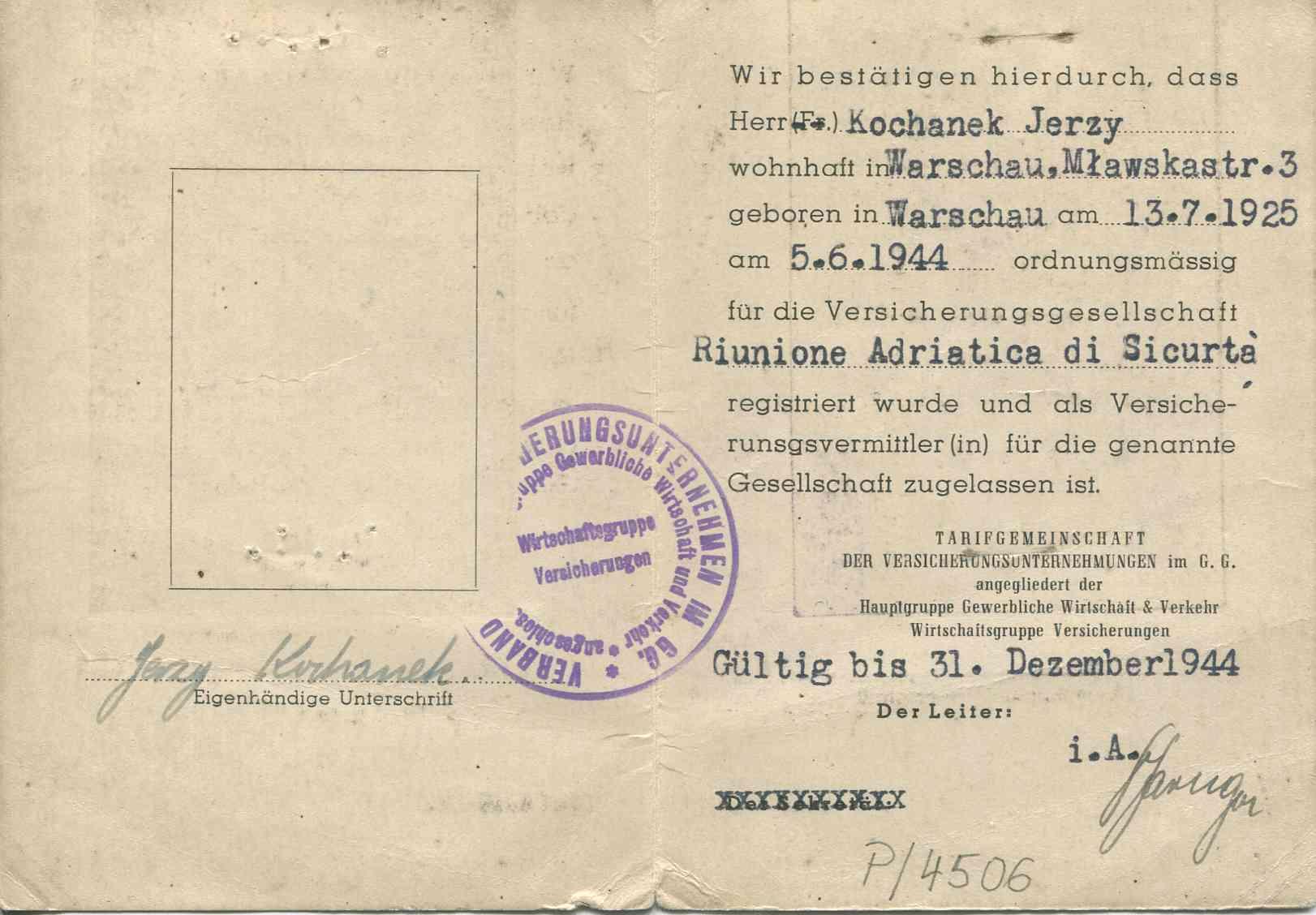 Ze zbiorów Muzeum Powstania warszawskiego, sygn. MPW-A/182