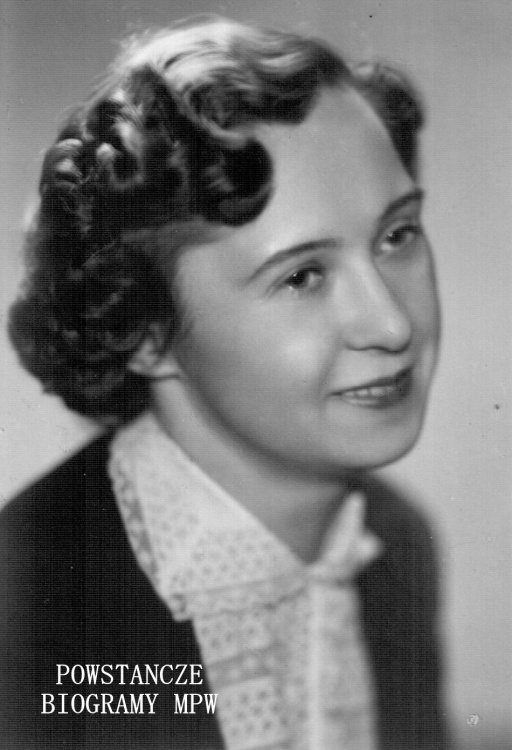 Halina Zwinogrodzka-Junak (1924-2015). Fot. archiwum rodzinne