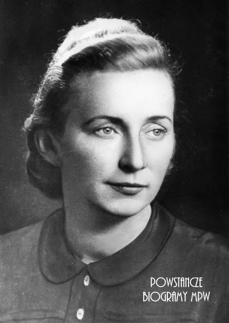 "Jadwiga Czarnecka-Kłosowska ps. ""Zoja"". Fot. AR MPW"