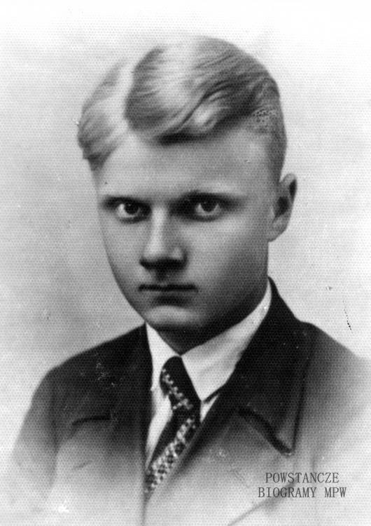 """Karol Jan Niewiarowski ps. """"Starter"""" (1921-1944). Fot. AR MPW"""