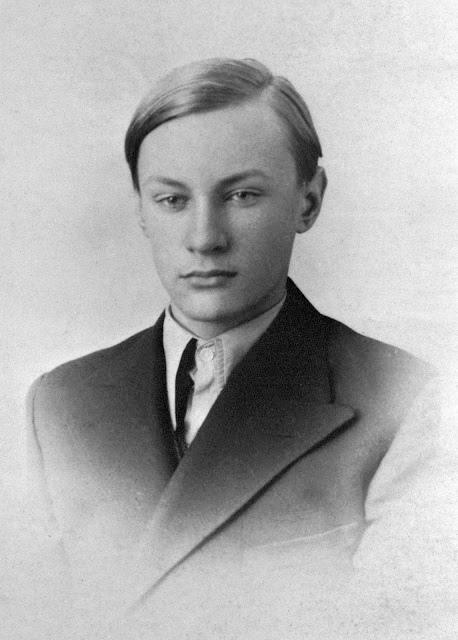 """Jerzy Golnik ps. """"Tyka"""" (1923-1944) Fot. AR MPW"""