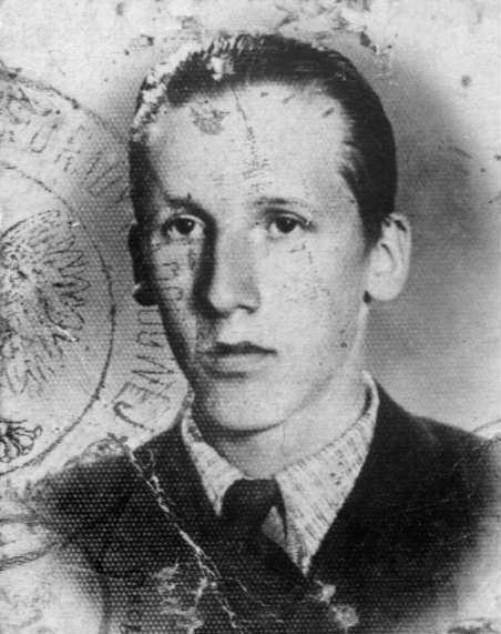 Jan Dudziński. Zdjęcie ze zbiorów Krzysztofa Dudzińskiego