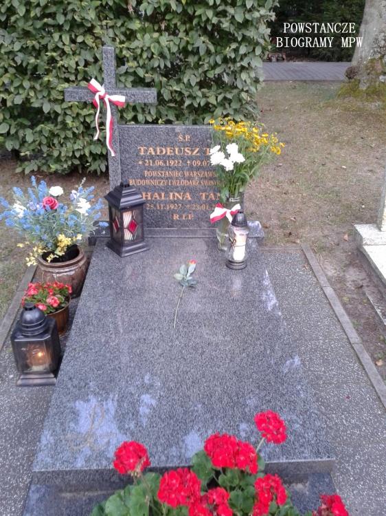 Mogiła Tadeusza Tana na cmentarzu w Świnoujściu. Fot. Mariusz Skroński