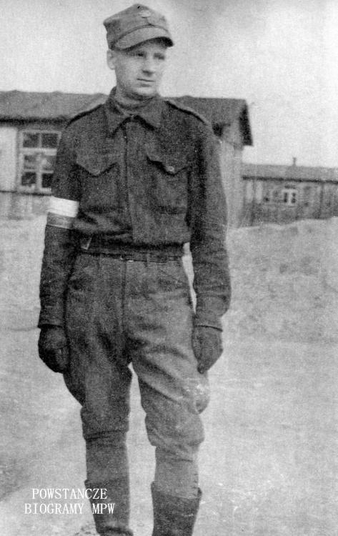 """Stanisław Jakubik """"Korab"""" (1918-1965). Fot. archiwum rodzinne syna"""