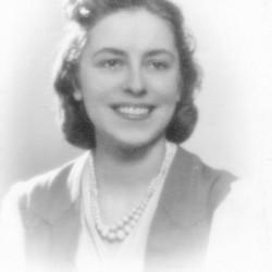 Barbara Sawicka - Leśniewska. Fot. archiwum rodzinne.