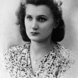 """Zofia Kasperska """"Zosia Żelazna"""" (1925-1944). Fot. ze zbiorów Muzeum Powstania Warszawskiego - batalion """"Zośka"""