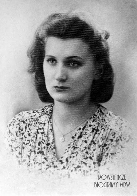 """Zofia Kasperska """"Zosia Żelazna"""" (1925-1944). Fot. ze zbiorów Muzeum Powstania Warszawskiego - batalion """"Zośka"""""""