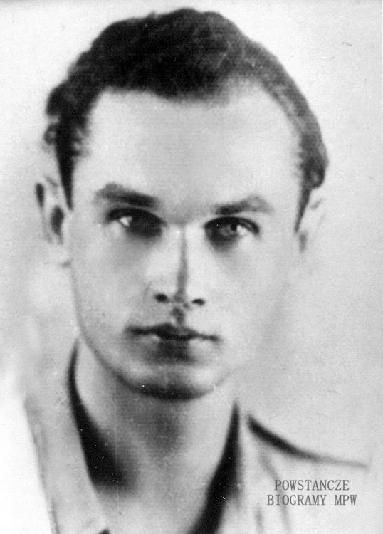 """Janusz Kazimierz Zawodny ps. """"Miś"""" (1921-2012). Fot. z archiwum rodzinnego."""