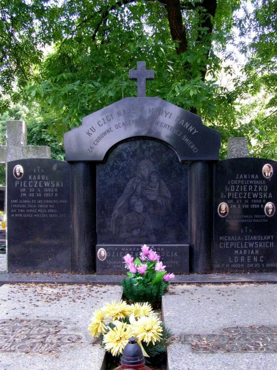 Mogiła na Cmentarzu Bródnowskim w Warszawie. Fot. MP/ AR MPW
