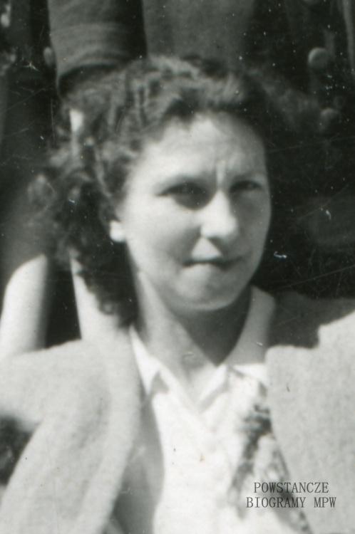 """Maria Jadwiga Baranowska """"Adela"""" (1910-1993). Fot. ze zbiorów Ireny Chalasz"""