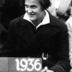 Halina Tomasik, 1936 r. Zdjęcie ze zbiorów Joanny Sikory.