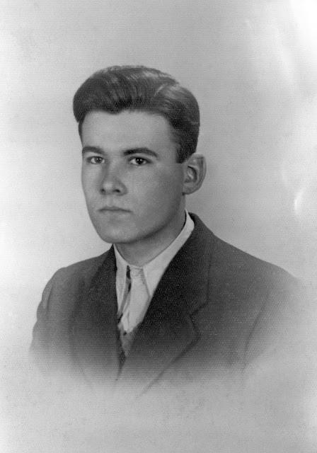 """Zdzisław Araszkiewicz ps. """"Świt"""" (1925-1944) Fot. AR MPW"""