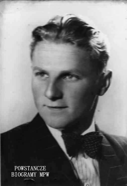 """Jerzy Dydaś ps. """"Góral"""" (1920-1944). Fot. z archiwum rodzinnego Jerzego Józefa Dydasia"""