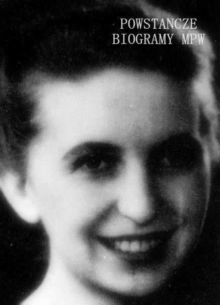 """Zofia Bożena Paszkowska """"Caro"""" (1921-2008).  Fot. AR MPW.  Zdjęcie ukazało się w książce <i>""""135 Pluton AK VII Zgrupowania """"Ruczaj"""" i jego kadeckie korzenie"""".</i>"""