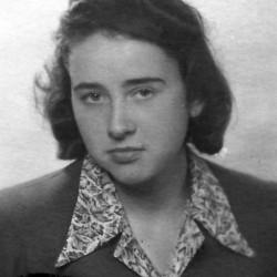 Sylwia Drzewiecka, 1947 r. Zdjęcie z archiwum rodzinnego Jolanty Krauzowicz.