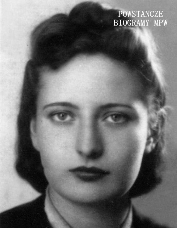 """Halina Maria Kifer - Pomykalska """"Kropelka"""" (1923-2009). Fot. z archiwum rodzinnego udostępniła p. Małgorzata Stańczyk z domu Pomykalska"""