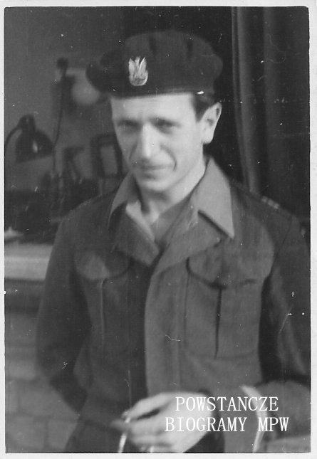 """Jan Mioduszewski """"Zbyszko"""" (1924-2011). Fot. z archiwum rodzinnego Łukasza Mioduszewskiego"""