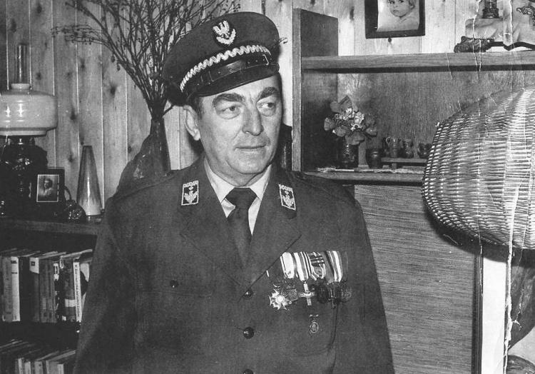 Mieczysław Zdzitowiecki - zdjęcie z marca 1984.