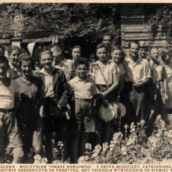 Mieczysław Hawłowski - zdjęcie z lat 30.