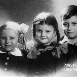 Rodzeństwo  Graba-Łęckich - Ludmiła, Kazimierz, Hanna