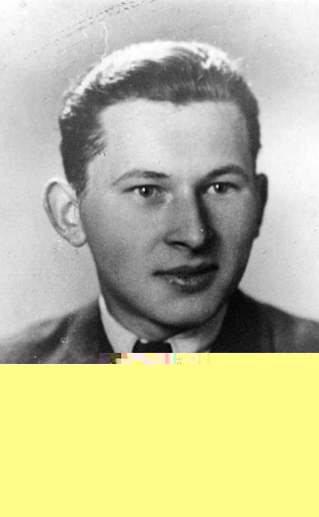 """Andrzej Przedpełski ps. """"Lipa"""" Fotografia z archiwum rodzinnego."""