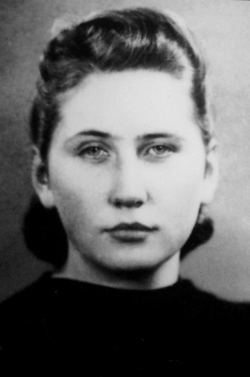 """Janina Danuta Łuszczewska-Heine """"Danka"""" Fot. AR MPW"""
