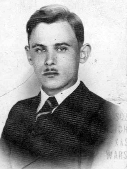 """Leszek Bielski ps. """"Biały"""" (1921-1944) Fot. archiwum rodzinne / AR MPW"""
