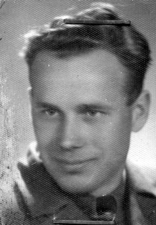 """Jerzy Ładysław Gorycki """"Orlik"""" Fot. archiwum rodzinne."""