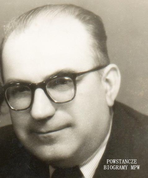 """Stanisław Ruff ps. """"Stanisław"""" (1906-1984) Fot. udostępnił p. Marcin Lep"""