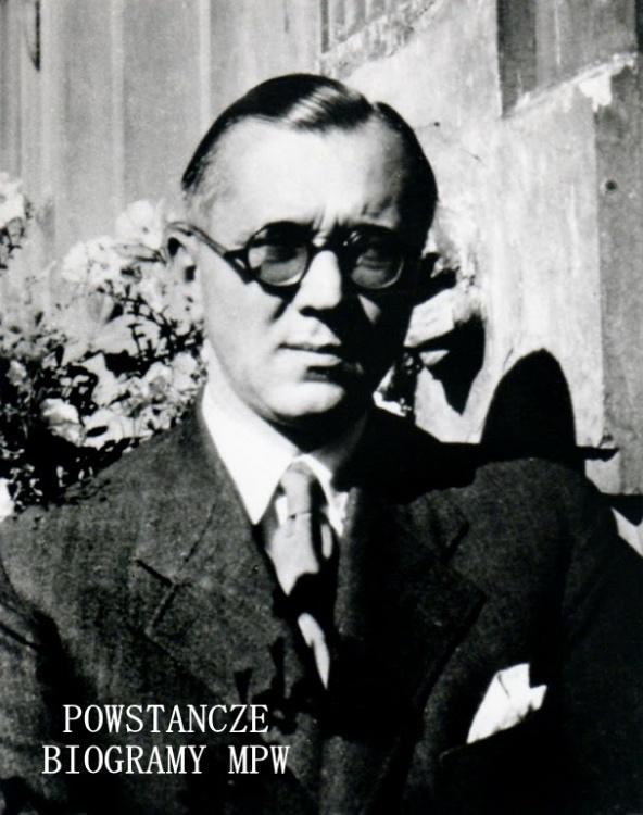"""Józef Brenstiern-Pfanhauser ps. """"Jasiński"""" (1896-1971). Fot. z archiwum rodzinnego udostępniła p. Ewa Pfanhauser"""