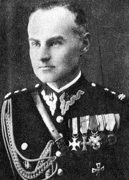 "Płk. Karol Jan Ziemski ps. ""Wachnowski"" . Fot. AR MPW"