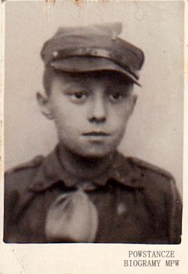 Ryszard Śniadkowski - na zdjęciu około 1934 roku. Fot. z  archiwum rodzinnego Lecha Drągowskiego