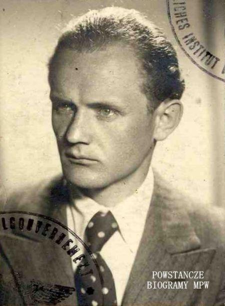 """ppor. Czesław Gerwel """"Orłoś (1909-1974) Fot. MPW"""