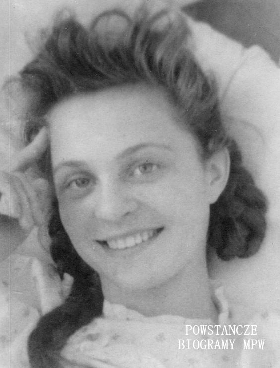 "Margarita Niewodniczańska ""Rita"" (1925-1944) Fot. AR MPW"