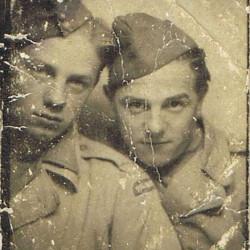 Ludwik Sujak - z lewej
