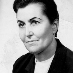 Janina Ludwika Bauer - Gellert. Fot. Związek Inwalidów Wojennych, Oddział Żoliborz
