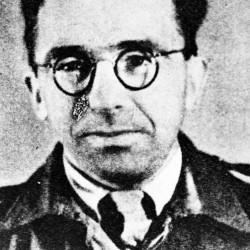 """por. Stanisław Antoni Szymczyk """"Jacek"""" (1910-1977), dowódca kompanii  """"B-1"""" w batalionie """"Bałtyk"""" Pułku AK """"Baszta"""