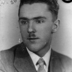 Czesław Uhma - zdjęcie z Kennkarty, rok 1943