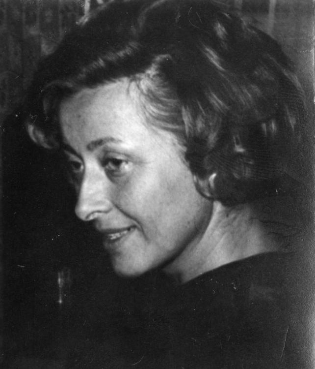 Barbara Pocztarska-Fitowska, lata powojenne. Fot. z archiwum rodzinnego Sławomira Pocztarskiego