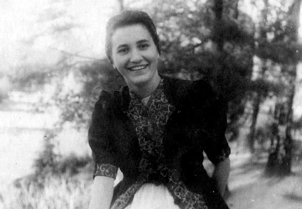 Wanda Filipecka-Stępień. Fot. z archiwum rodzinnego Marka Filipeckiego.